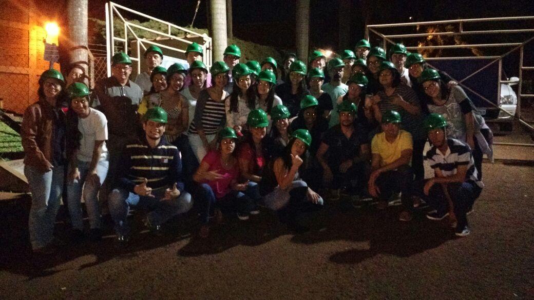 Alunos da Etec visitam Usina São Luiz, em Ourinhos.