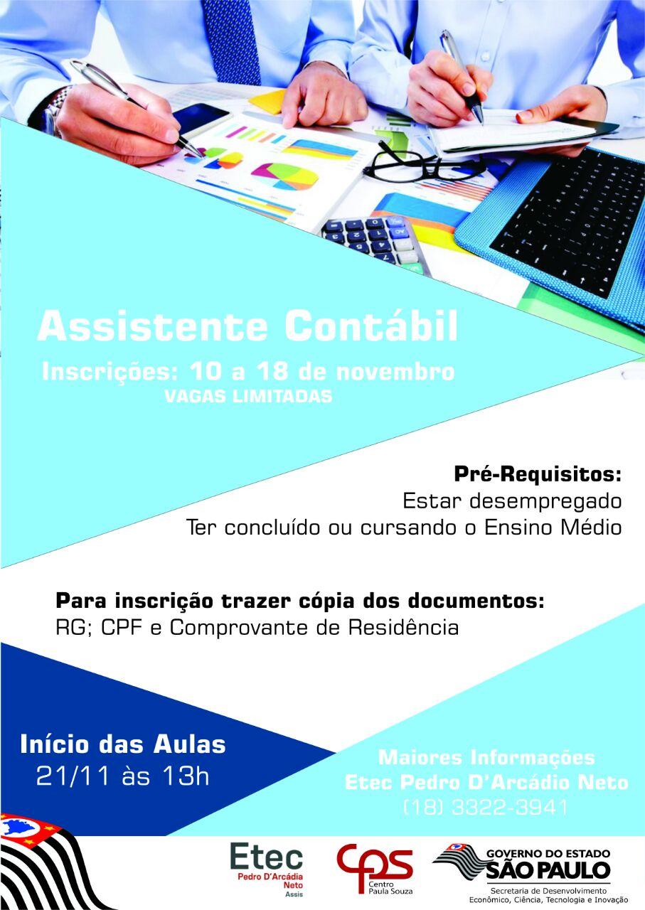 Assistente Contábio