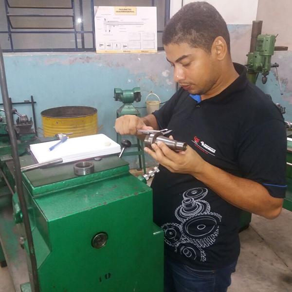 Mecânica na Prática - Etec Pedro D'Arcádia Neto