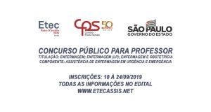 Etec Pedro D'Arcádia Neto - Assis/SP